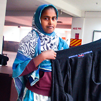 Shirin is 26 years old. She is born and raised in Gazipur, where she works as an inspector at Earl Fashion Limited. <br /> <br /> 50% of revenue will go directly back to Shirin to support her and her family - equivalent to a month's income for them.