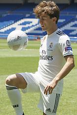 Real Madrid Presents Alvaro Odriozola - 18 July 2018