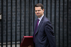 © Licensed to London News Pictures. 31/01/2017. London, UK. Northern Ireland Secretary James Brokenshire arriving at Downing Street for a cabinet meeting this morning. Photo credit : Tom Nicholson/LNP