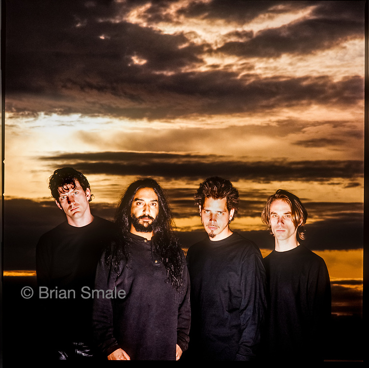 Soundgarden, photographed by Brian Smale in Seattle, WA in 1996 for Spin Magazine.