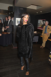 SHAZNAY LEWIS at the Al Films and Warner Music Screening of Kill Your Friends held at the Curzon Soho Cinema, 99 Shaftesbury Avenue, London on 27th October 2015.