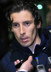 Robert Koren of Slovenia after  the 8th day qualification game of 2010 FIFA WORLD CUP SOUTH AFRICA in Group 3 between Slovenia and Czech Republic at Stadion Ljudski vrt, on March 28, 2008, in Maribor, Slovenia. Slovenia vs Czech Republic 0 : 0. (Photo by Vid Ponikvar / Sportida)