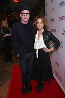 Jennifer Grey and Clark Gregg at Los Angeles Premiere Of 'Untogether' held at Frida Restaurant on February 08, 2019 in Sherman Oaks, California, United States (Photo by JC Olivera)