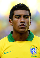Fifa Brazil 2013 Confederation Cup / Group A Match / <br /> Brazil vs Mexico  2-0  ( Arena Castelao Stadium - Fortaleza , Brazil )<br /> PAULINHO of Brazil , during the match between Brazil and Mexico