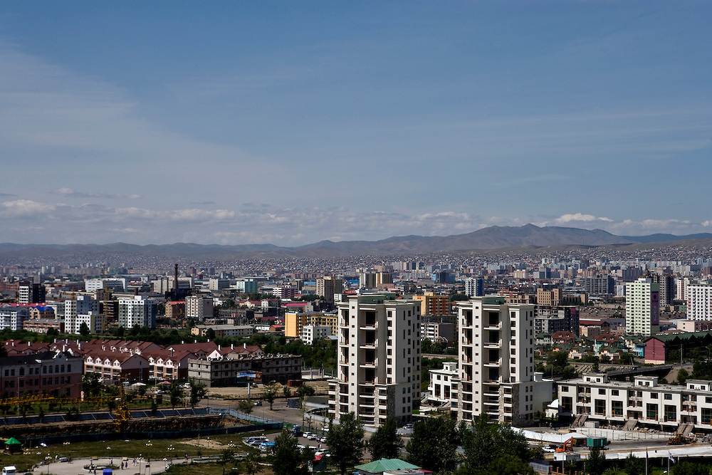 Overview of the City of Ulan Baatar