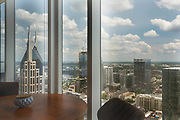 Nashville skyline photographed by Rodney Bedsole from 505 condo building