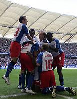 Fotball, 6. august 2005,1-0 1-0 Jubel HSV<br /> Bundesliga Hamburger SV - 1.FC Nuernberg<br /> Norway only