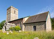 Village parish church of Saint Mary, Sweffling, Suffolk, England, UK
