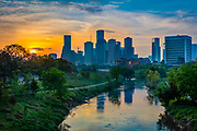 Houston is the most populous city in Texas and the fourth most populous city in the United States, located in Southeast Texas near the Gulf of Mexico. Houston was founded in 1836 on land near the banks of Buffalo Bayou (now known as Allen's Landing) and incorporated as a city on June 5, 1837. The city was named after former General Sam Houston, who was president of the Republic of Texas and had commanded and won at the Battle of San Jacinto 25 miles  east of where the city was established. The burgeoning port and railroad industry, combined with oil discovery in 1901, has induced continual surges in the city's population.