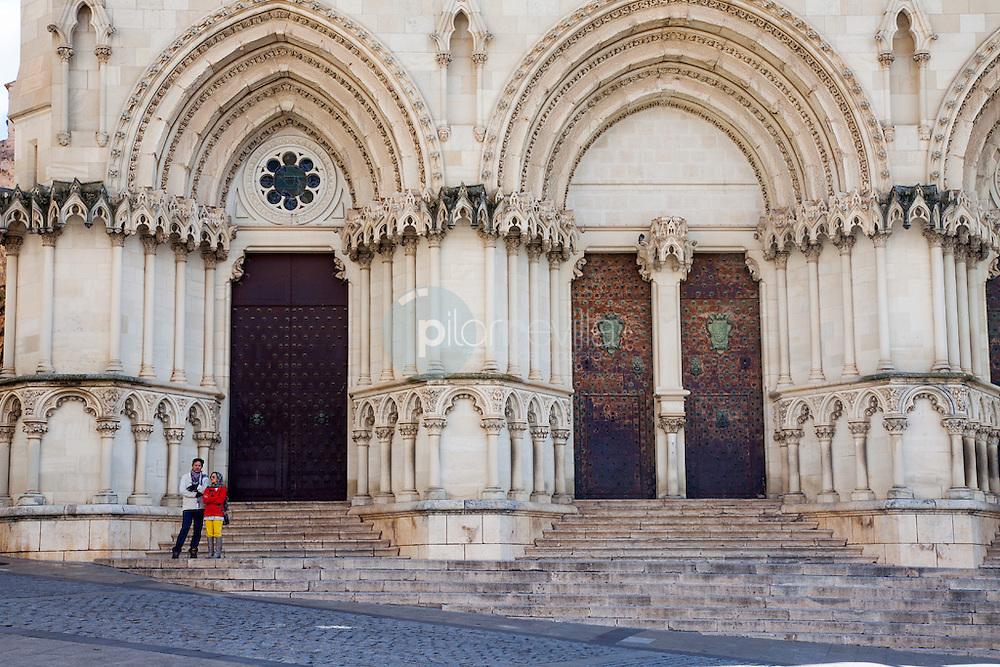 Porticos de entrada de la catedral de Cuenca. Castilla La Mancha. España. Europa ©Country Sessions / PILAR REVILLA