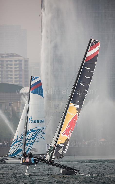 The Extreme Sailing Series 2015. Act3. Qingdao. China. <br /> Credit - Lloyd Images