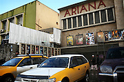 The Ariana Cinema is photographed in the center of Kabul, Afghanistan.