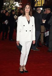 February 18, 2019 - London, United Kingdom - Cara Horgan at The Aftermath World Premiere at the Picturehouse Central, Shaftesbury Avenue and Great Windmill Street. (Credit Image: © Keith Mayhew/SOPA Images via ZUMA Wire)