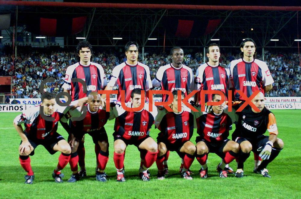 Turkish Soccer...<br /> Turkish Soccer Super League team Gaziantepspor. Gaziantep/TURKEY<br /> Photo by Aykut AKICI/TurkSporFoto
