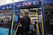 Union Square Valentine's Day Bus Stop Activation