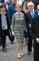 © Licensed to London News Pictures. 27/09/2016.  Jane Asher arrives for a Service of Thanksgiving for the Life and Work of Sir Terry Wogan at Westminster Abbey. Veteran broadcaster Sir Terry Wogan died in January 2016. The Irish star had a long and successful career at the BBC, including stints on  radio and TV. London, UK. Photo credit: Peter Macdiarmid/LNP