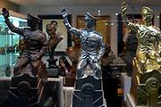 King Rama 9 mini statues for sale, Chatujak Market
