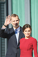120618 Spanish Royals attends the ceremony of the 40th anniversary of the Spanish Constitution