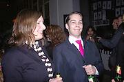 Nephews: Anne Katrin Ahrens and Philipp Kippenberger-Herfeldt, Tate Modern. 7 Febriuary 2006. -DO NOT ARCHIVE-© Copyright Photograph by Dafydd Jones 66 Stockwell Park Rd. London SW9 0DA Tel 020 7733 0108 www.dafjones.com