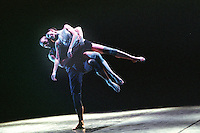 """George Piper Dances.<br /> Oxana Panchenko and William Trevitt in Russell Maliphant's """"Broken Fall"""", originally choreographed on Sylvie Guillem and the Ballet Boyz for the Royal Ballet."""