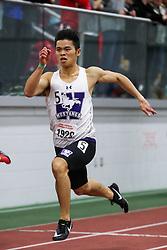 BU Terrier Indoor track meet<br /> Matt Chan, Western Ontario, 200m