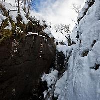 Markku Koski spins a wildcat 7, Glen Coe, Scotland.