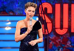 Presenter Emma Willis during the live final of Celebrity Big Brother at Elstree Studios, Hertfordshire.
