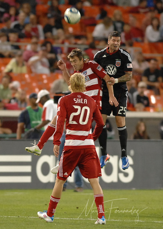 D.C. United and F.C. Dallas played to a scoreless draw in front of 11,504 fans at RFK Stadium in Washington D.C.