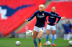 Jill Scott of Manchester City Women warms up prior to kick off - Mandatory by-line: Nizaam Jones/JMP - 29/08/2020 - FOOTBALL - Wembley Stadium - London, England - Chelsea v Manchester City - FA Women's Community Shield
