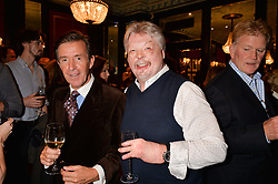 John Stoddart and Simon Weston at the John Stoddart Exhibition at L'Escargot, Greek Street, London, UK on the 26th September 2017.