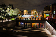 High Line Louise Lawler's Billboard at Night