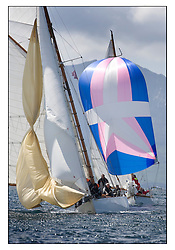 Viola 1908 Gaff Cutter and Rosemary 1925 Bermudan Sloop..* The Fife Yachts are one of the world's most prestigious group of Classic  yachts and this will be the third private regatta following the success of the 98,  and 03 events.  . .Marc Turner / PFM Pictures