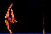 Lundi 14 Septembre 2009. Paris, France..Premiere competition Officielle de Pole Dance en France..20eme Theatre (Paris 20eme)..Emiliano Scimeoni