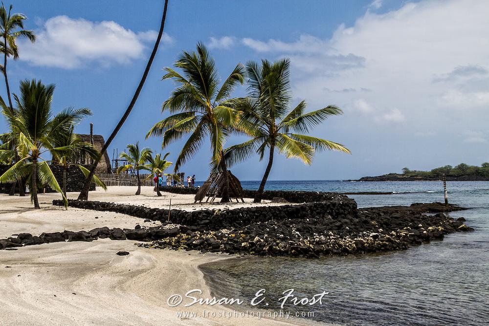 Pu'uhonua o Honaunau, Place of Refuge, Big Island Hawaii