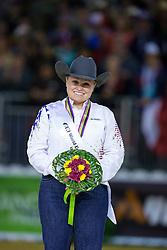 Mandy Mccutcheon, (USA) - Individual Final Comptetition - Alltech FEI World Equestrian Games™ 2014 - Normandy, France.<br /> © Hippo Foto Team - Leanjo De Koster<br /> 30-08-14