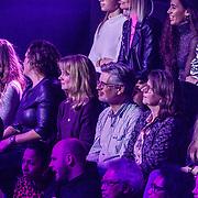 NLD/Hilversum/20190201- TVOH 2019 1e liveshow, Dennis van Aarssen familie en vrienden