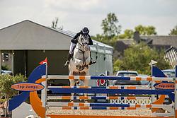 Anthonissen Bart, BEL, Mistere Grey Castanoo<br /> Groenten Jumping - Sint Kathelijne Waver 2020<br /> © Hippo Foto - Dirk Caremans<br /> 21/07/2020