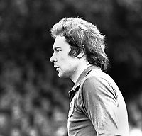 Mark Wallington - Leicester City. Norwich City v Leicester City 22/10/77. Credit: Colorsport.