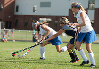 Girls Varsity Field Hockey Gilford versus Sanborn September 8, 2011.Girls Varsity Field Hockey Gilford versus Sanborn September 8, 2011.