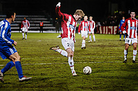 Fotball<br /> UEFA-cup Tromsø - Røde Stjerne 24.11.2005<br /> Lukovic (Røde Stjerne), Ole Martin Årst, Lars Iver Strand (TIL)<br /> Foto: Tom Benjaminsen / DIGITALSPORT