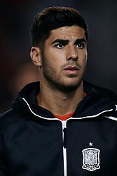 September 11, 2018 - Elche, Alicante, Spain - Marco Asensio of Spain looks on prior to the UEFA Nations League A group four match between Spain and Croatia at Manuel Martinez Valero on September 11, 2018 in Elche, Spain  (Credit Image: © David Aliaga/NurPhoto/ZUMA Press)