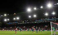 SHEFFIELD, ENGLAND - DECEMBER 05: <br /> A general view of the second half action under floodlights during the Premier League match between Sheffield United and Newcastle United at Bramall Lane on December 5, 2019 in Sheffield, United Kingdom. (Photo by Rich Linley - CameraSport via Getty Images)