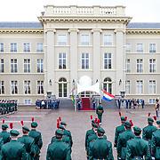 NLD/Den Haag/20170519 - Koning Willem Alexander en Koningin Maxima Ontvangen Presidentspaar Mozambique, Paleis Noordeinde