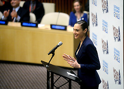United Nations ceremony to name the character WONDER WOMAN as the Honorary Ambassador for the Empowerment of Woman and Girls. The ceremony will be held on the 75th anniversary of the comic book character. Created by William Moulton Marston she first came to the public's attention in October 1941. Celebrities expected: UN Secretary General Ban Ki-moon, DC Entertainment President Diane Nelson, and special guests, Lynda Carter and Gal Godot, who have both played Wonder Woman on TV and in the upcoming feature film. United Nations Headquarters, First Avenue at 42nd, NYC.
