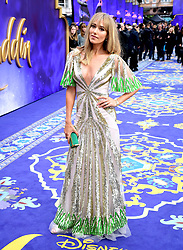 Jacqui Ritchie attending the Aladdin European Premiere held at the Odeon Luxe Leicester Square, London.