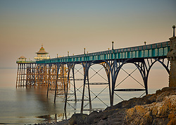 Clevedon Pier was built to allow Bristol Channel steamers to land despite the 10m tidal range in the channel. It is popular with photographers so I had to get up very early to catch the pier in an unusually calm and misty dawn light.