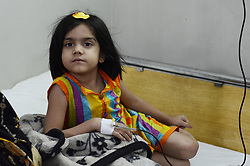 May 8, 2017 - Lahore, Punjab, Pakistan - Thalassaemia is an inherited blood disorder and can be simply stated as the inability of the body to produce adequate amount of Hemoglobin in the red blood cells. (Credit Image: © Rana Sajid Hussain/Pacific Press via ZUMA Wire)