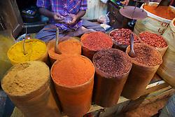 Spices For Sale, Gyee Zai Market