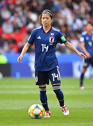 I I Hasegawa during the FIFA Women's World Cup group D first round soccer match between Argentina and Japan at Parc des Princes Stadium in Paris, France on June 10, 2019. The FIFA Women's World Cup France 2019 will take place in France from 7 June until 7 July 2019. Photo by Christian Liewig/ABACAPRESS.COM