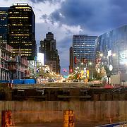 Replacement of the Grand Avenue bridge in downtown Kansas City, Missouri